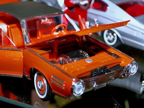 1963 Chrysler Turbine Car 1 18 Diecast Scale Model Engine
