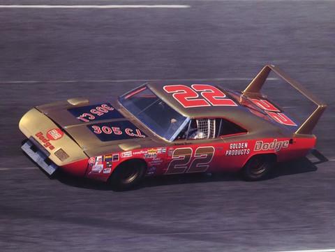 1969 Dodge Charger Daytona NASCAR Race Car at Speed Driven