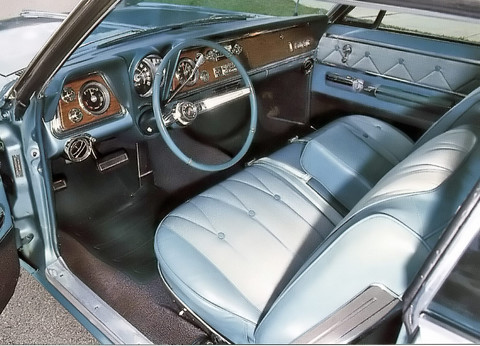 1965-Oldsmobile-98-HT-interior - Picture Gallery - Motorbase