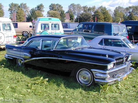 1958 Buick Century 4 Door Sedan Fr3q Ritz Picture