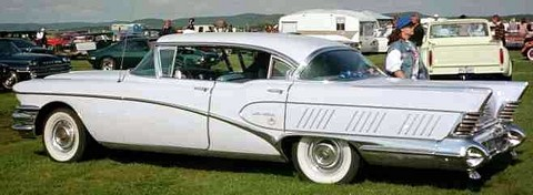 1958 Buick Limited 4d Riviera-white-sVl mx