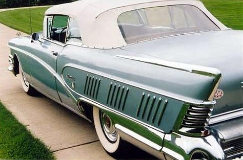 1958 Buick Limited Convertible-slvr-rVl-tu mx