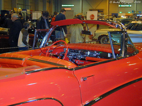 1958 Buick Limited convertible-red-interior ritz