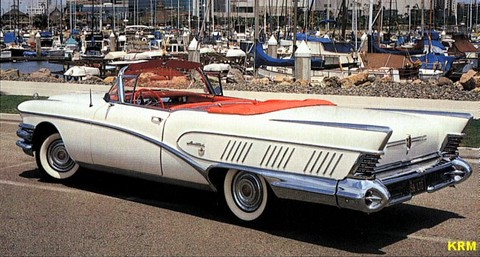 1958 Buick Limited convertible rsv KRM
