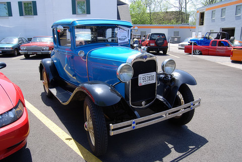 1930 Ford 2 dr coupe - fvr