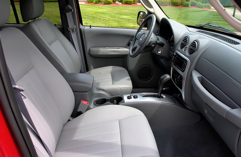 2006 jeep liberty limited medium slate light graystone interior instrument panel rvr inferno for Jeep liberty interior accessories