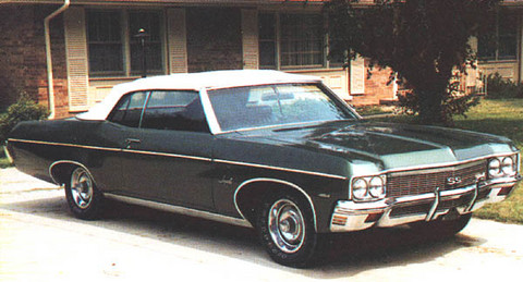 1970 Chevrolet Impala Ss 454 Convertible 01 Picture