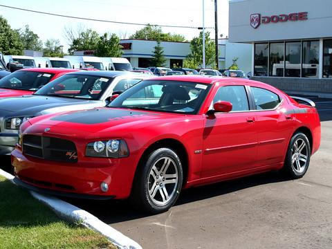 2006 Dodge Charger 5 7l Hemi R T Daytona Tor Red Fvl