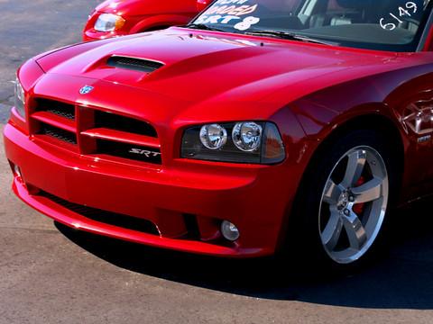 2006 Dodge Charger 6 1L HEMI SRT8 Inferno Red fvl Clip