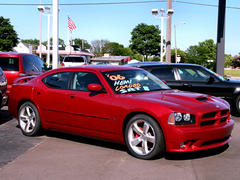 2006 Dodge Charger 6 1l Hemi Srt8 Inferno Red Fvr