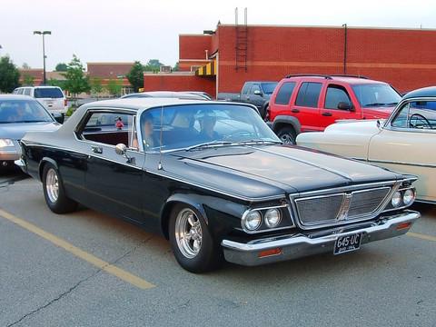 1964 Chrysler New Yorker 2 Door Hardtop Mild Custom Black