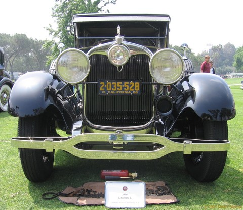 1928 Lincoln L Limo - fv