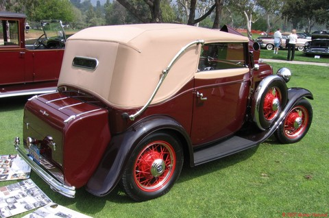 1932 German Ford Victoria Conv - rvr