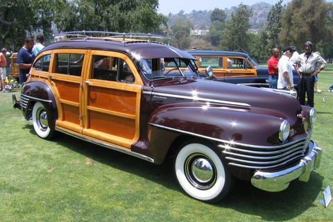 1942 Chrysler Town & Country Station Wagon - fvr