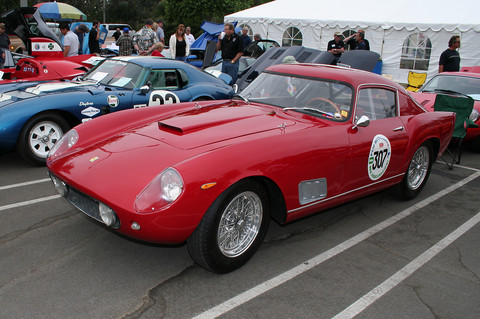 1958 Ferrari 250 LWB Berlinetta - red - fvl