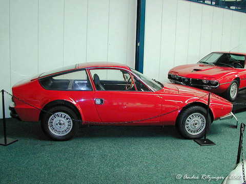 1973 Alfa Romeo 1600 GT Junior by Zagato 1973 ritz