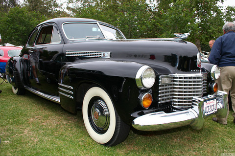 1941 Cadillac coupe - black - fvr2