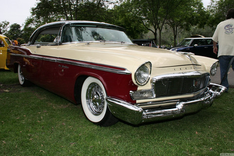 1956 Chrysler New Yorker St. Regis - black yellow maroon - fvr2