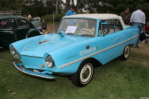 1964 Amphicar 770 - light blue - fvl