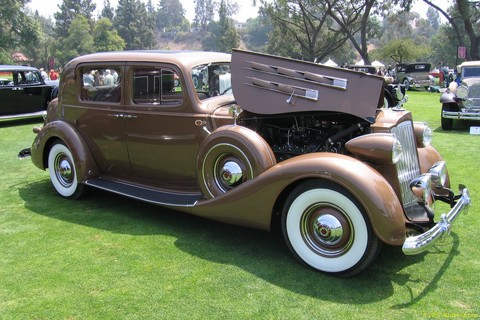 1939 Packard 12 4-Dr Sedan - fvr