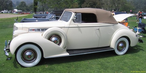 1939 Packard Super Eight Conv Coupe - fvl
