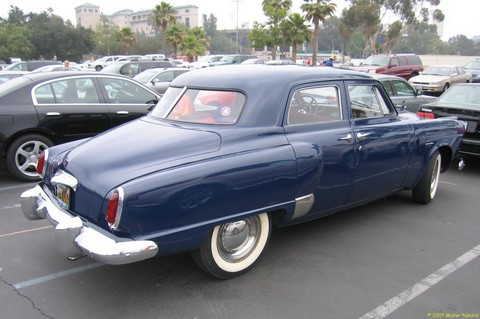 1950 Studebaker Commander 4-Dr Sedan - rvr