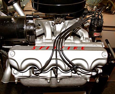 1955 Chrysler Windsor 301 Cid Spitfire Polyspherical Head