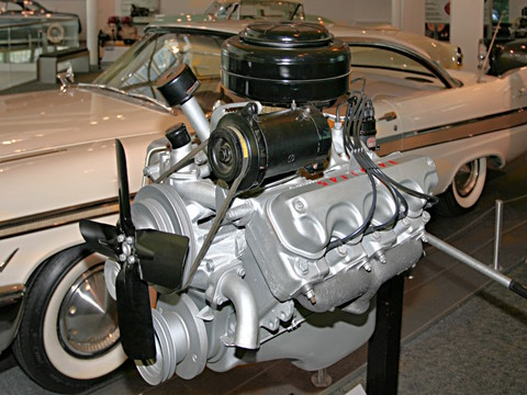 1955 Chrysler Windsor 301 Cid Spitfire Polyspherical Head