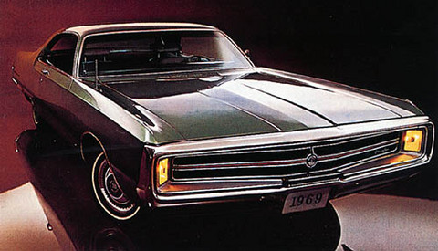 1969 Chrysler 300 Sport Coupe f3q