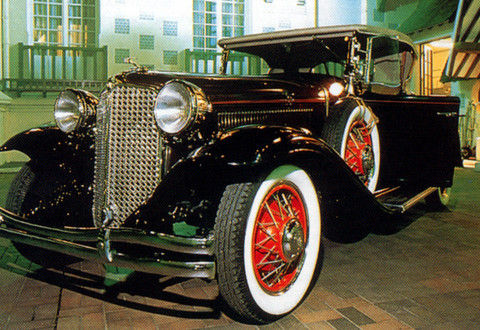 1931 Chrysler Deluxe CD Roadster