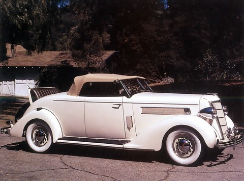 1935 Chrysler Deluxe Airstream Model CZ Eight Convertible