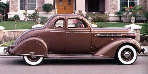 1936 Chrysler Airstream Model C-8 Deluxe Business Coupe Sv