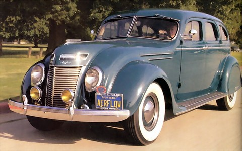 1937 Chrysler C17 Imperial Airflow Sedan f3q