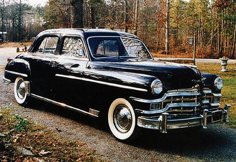 1949 Chrysler Royal Silver Anniversary Sedan F3q Picture