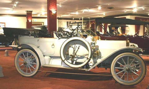 1911 Auburn Model N Four-Door Touring Car-0011
