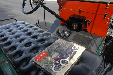 1915 Ford Martin-Perry Bodied T Delivery Interior 2