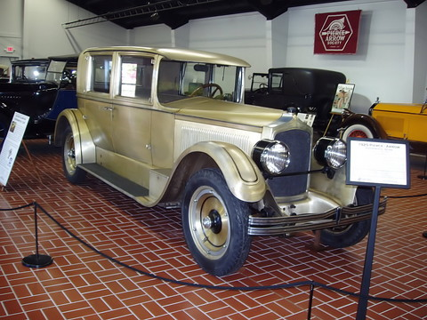 1925 Pierce - Arrow Experimental Sedan - fvr