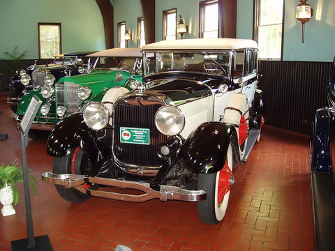 1928 Lincoln 4 dr conv sedan - fvl